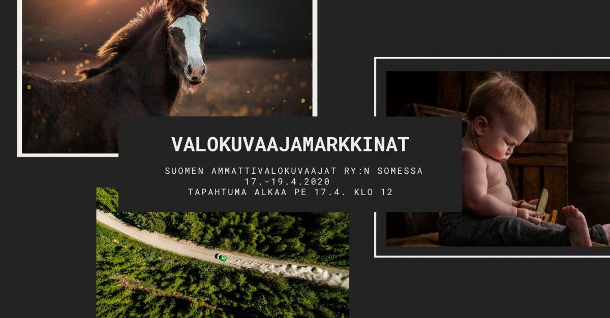 Valokuvaajamarkkinat SAV:n Facebookissa